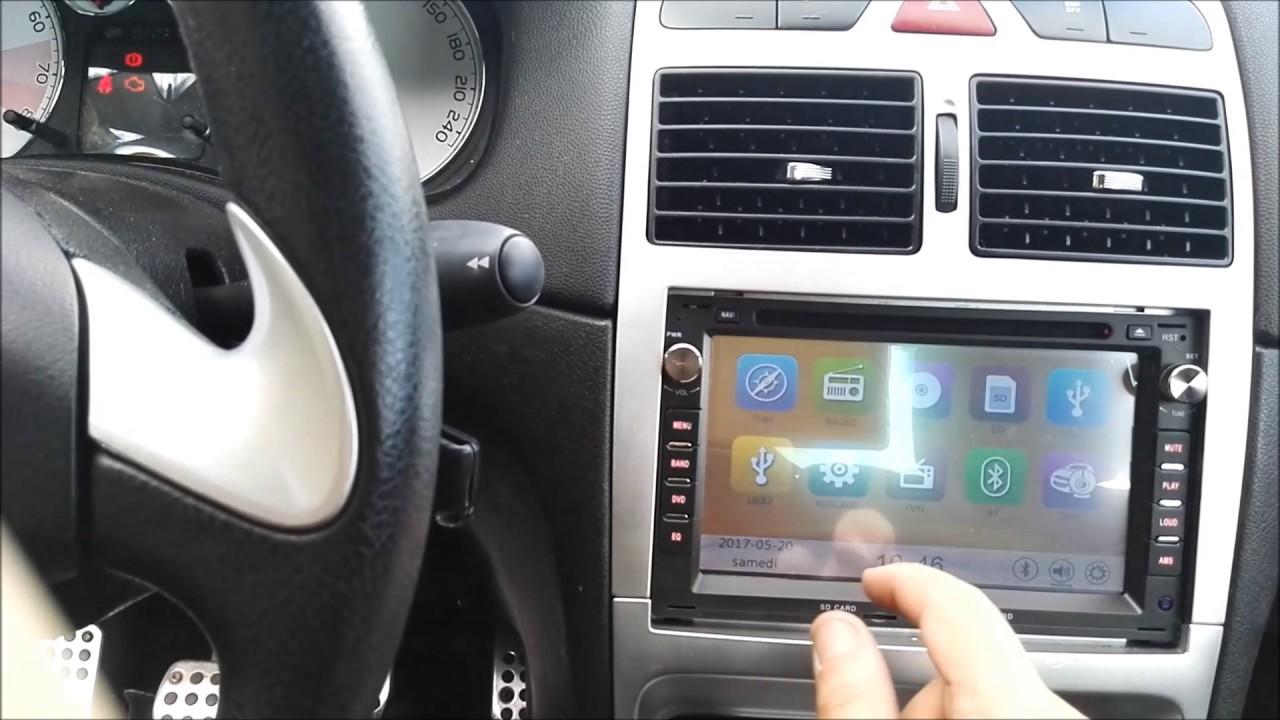 autoradio GPS Peugeot 307